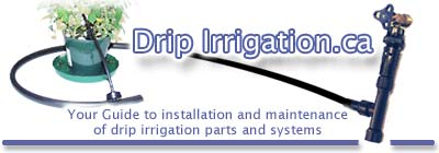 Your guide to installing and maintaining  low-pressure  trickle drip irrigation parts and systems